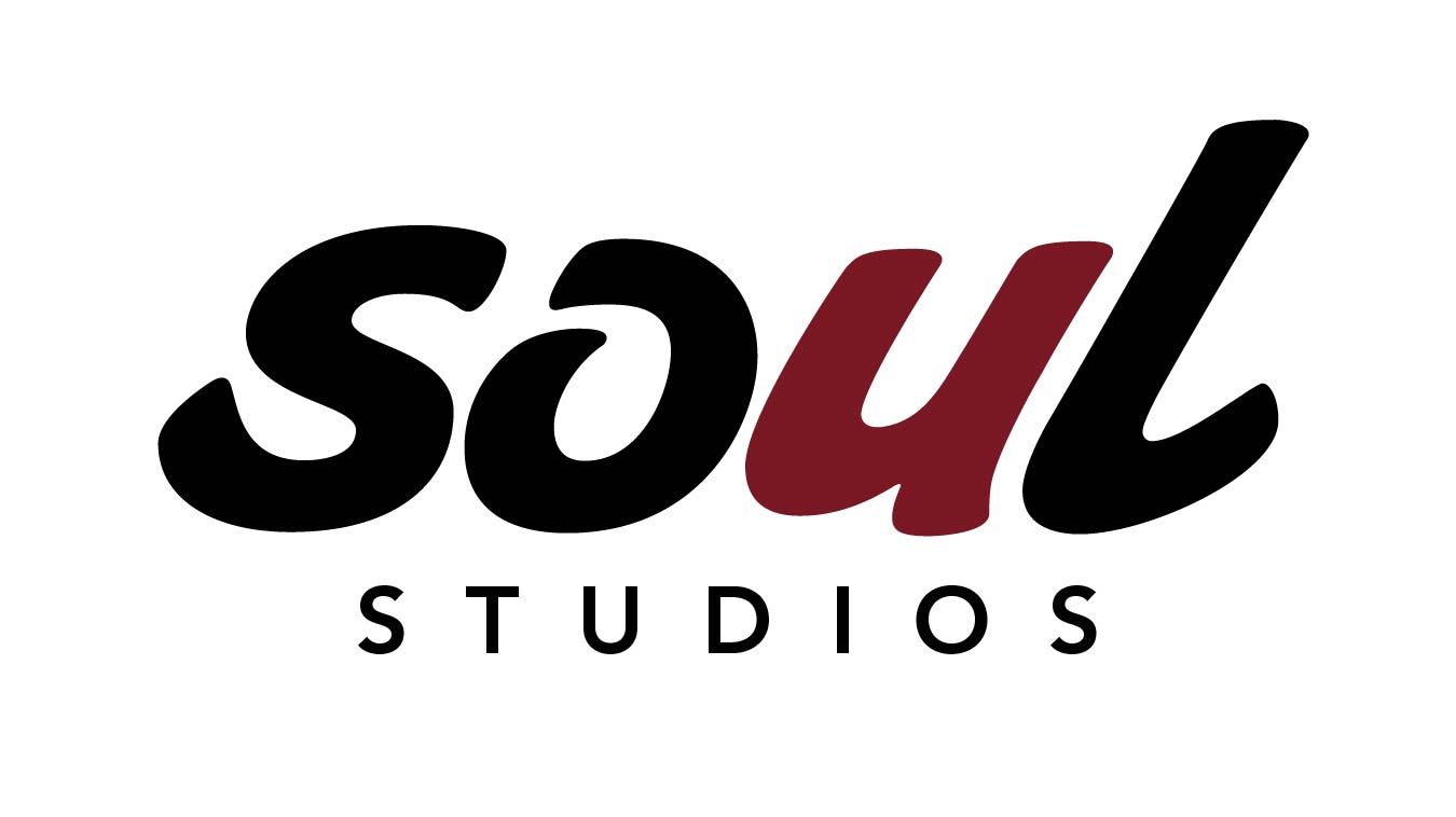 Soul Studios Logo - Black with Red white background 300 dpi-01